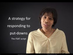 Strategies for Dealing with Difficult People: How to respond to put-downs.